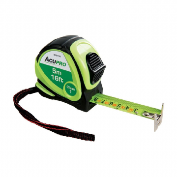 Acupro 902135 Metric & Imperial Tape Measure 5m / 16ft x 25mm